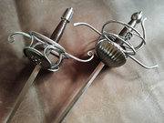 Knot Rapier and Dagger