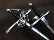Flaming Rapier and dagger set