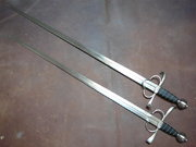 Two side swords c.16th century